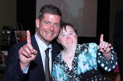 Jamie Deen will co-emcee Lowcountry Down Syndrome Society's 9th annual Night of Champions