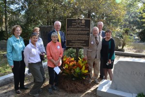 Savannah Rotary Unveils Marker in Honor of Founder