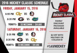 2016 Hockey Classic Schedule