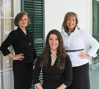 Marjorie Young, Cynthia Wright, Cecilia Russo Turner of Carriage Trade Public Relations and Cecilia Russo Marketing, Savannah Public Relations