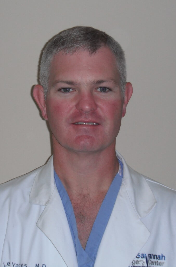Dr. Lee Yates, Medical Director of Surgery at St. Joseph's Candler Health System and founder of Savannah Surgery Center