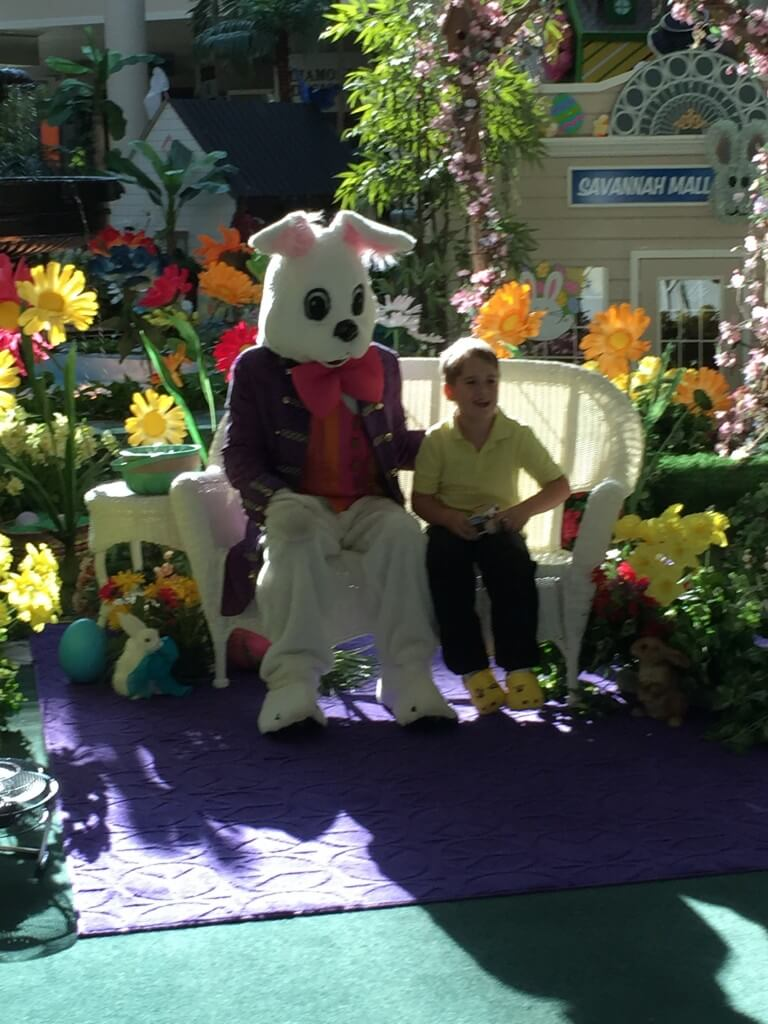 Easter Bunny and Zack Reardon Celebrate the Season