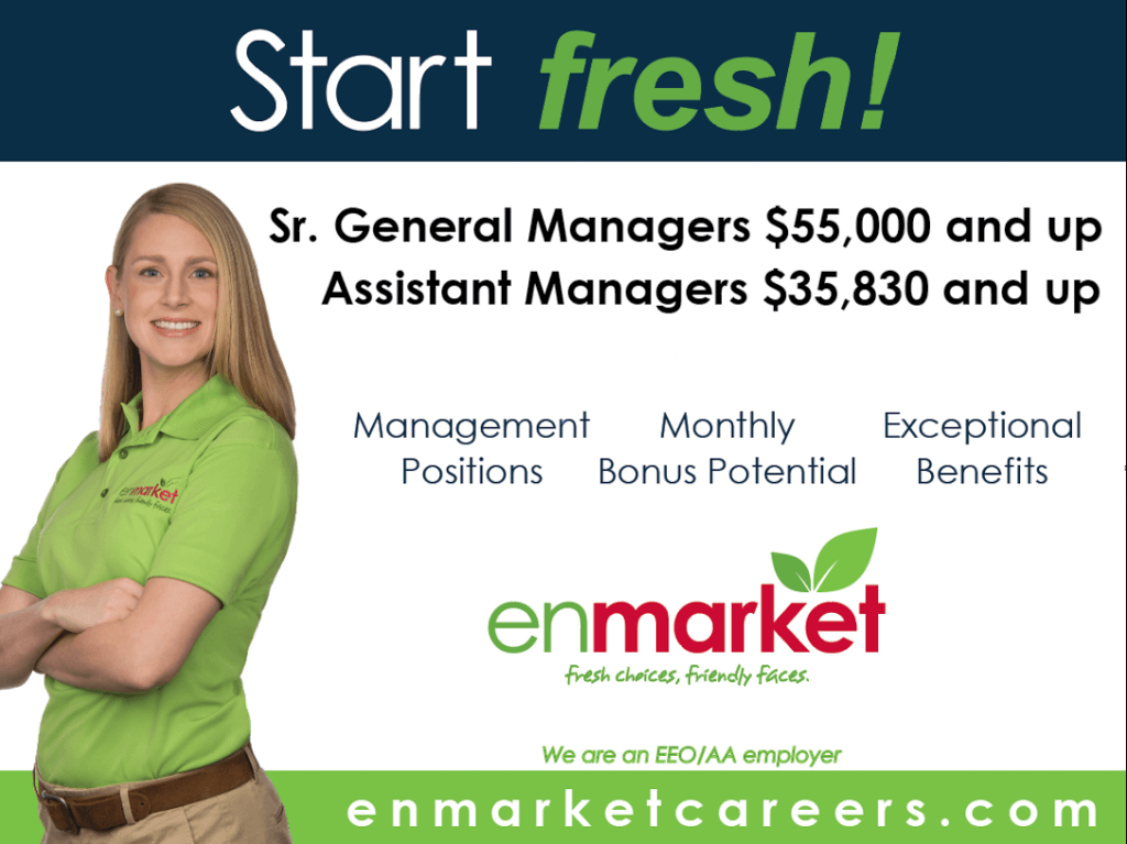 Enmarket Management and Employee Salaries Descriptions