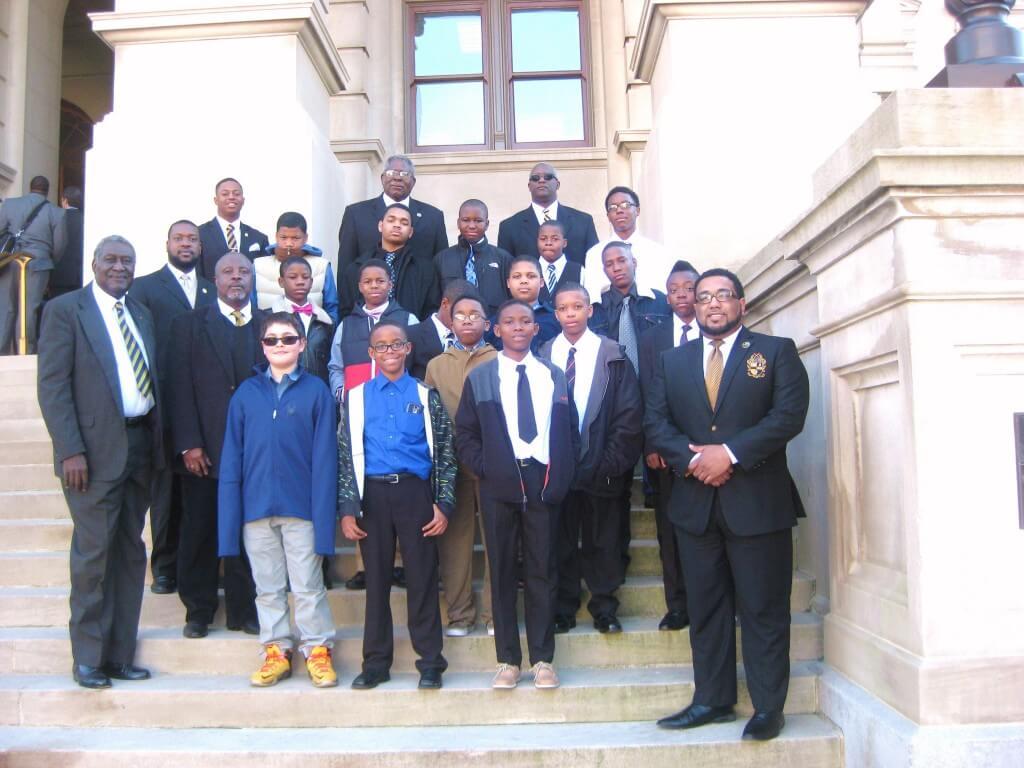 Savannah Rotary Sponsors Students from 100 Black Men of Savannah to Visit Georgia State Capitol
