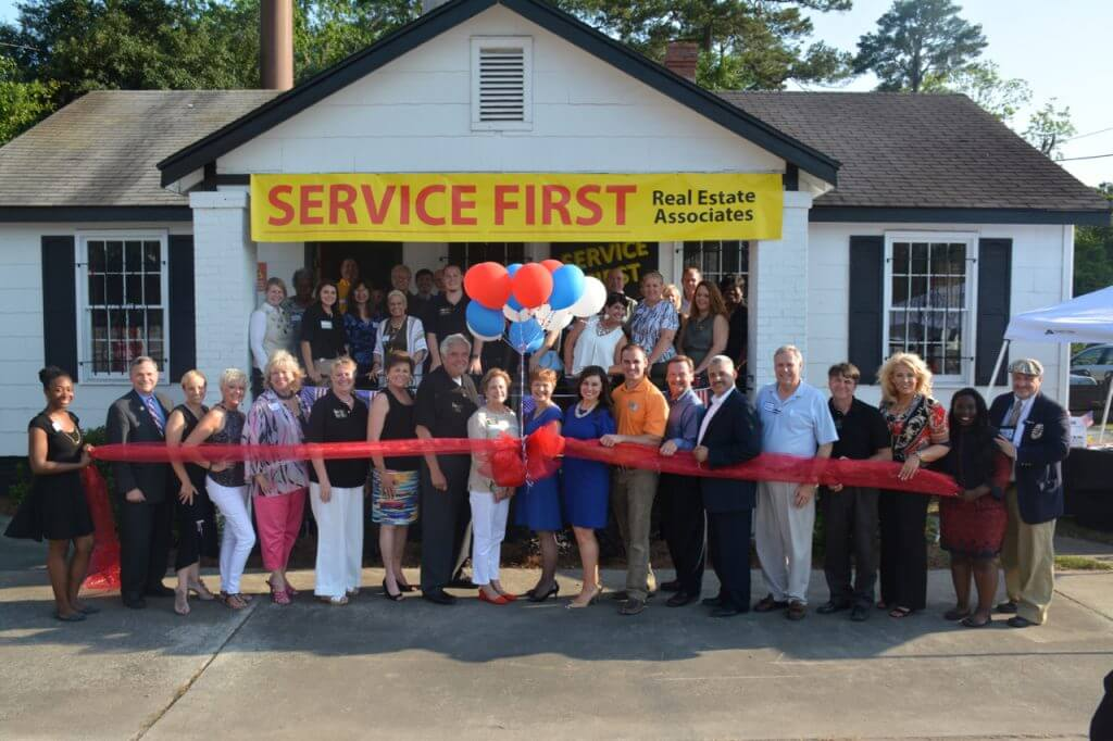 SERVICE FIRST Real Estate Associates, Founded by Joe Dyer, Grand Opening and Ribbon Cutting