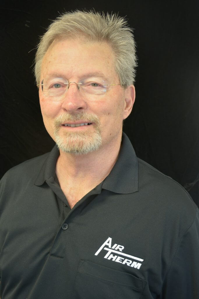 Bill Efird, owner Air Therm Company