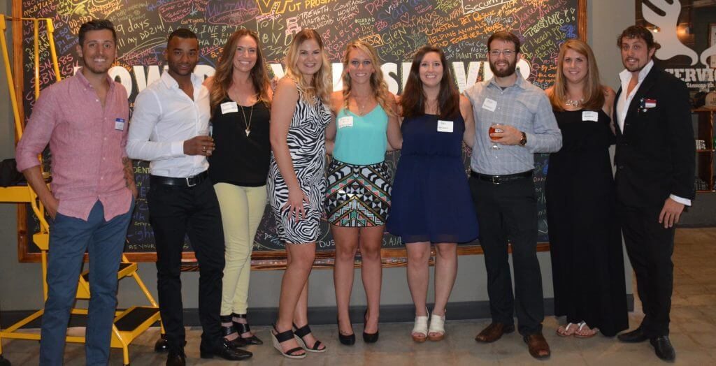 (LEFT TO RIGHT): Alex Chamberlain, Joseh Marion, Rachel Gardner, Cailey Sparks, Holly Muhlhan, April Gainey, Joshua Hodnett, Keri Cromwell, and Mack Mackenzie. Not pictured: Clinton Edminster and Sam Brasel.