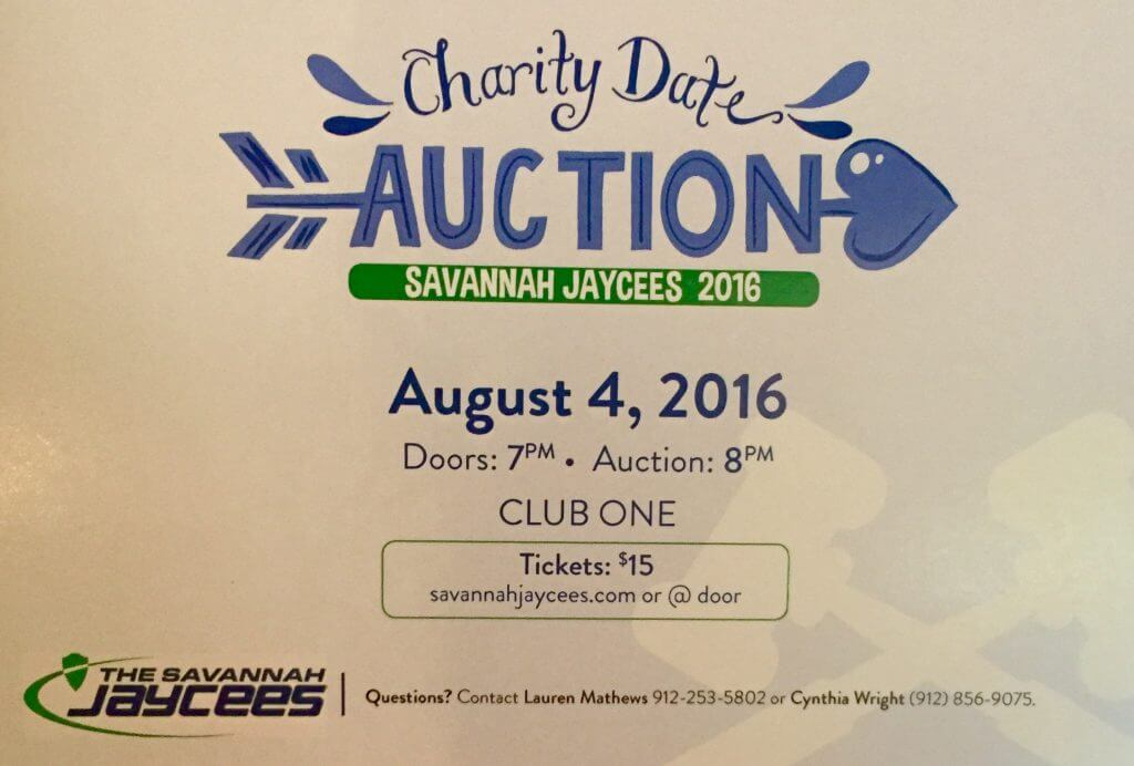 Jaycees Date Night Auction Filer