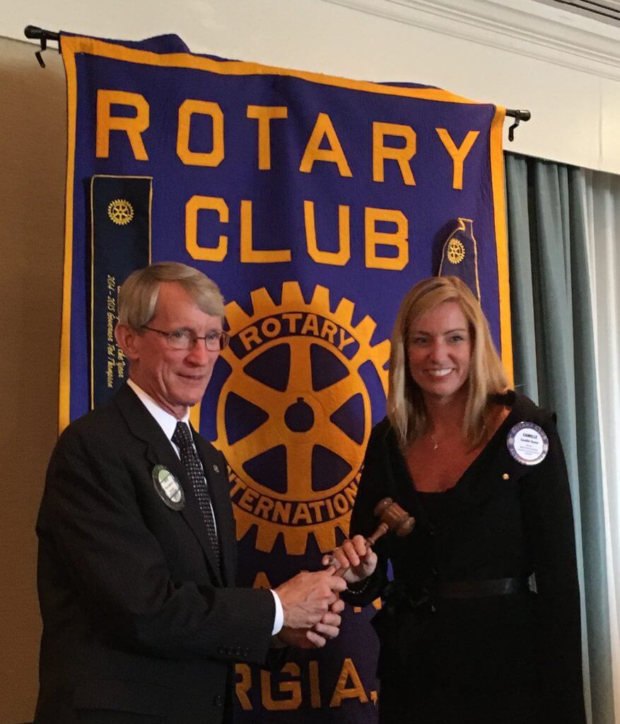 Rotary Club of Savannah Welcomes Camille Russo as New President