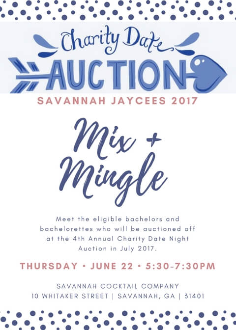 Savannah Jaycees 2017 Date Night Mixer Invitation