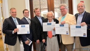 Felder & Associates Win Historic Savannah Foundation Preservation Award for Vic's on the River