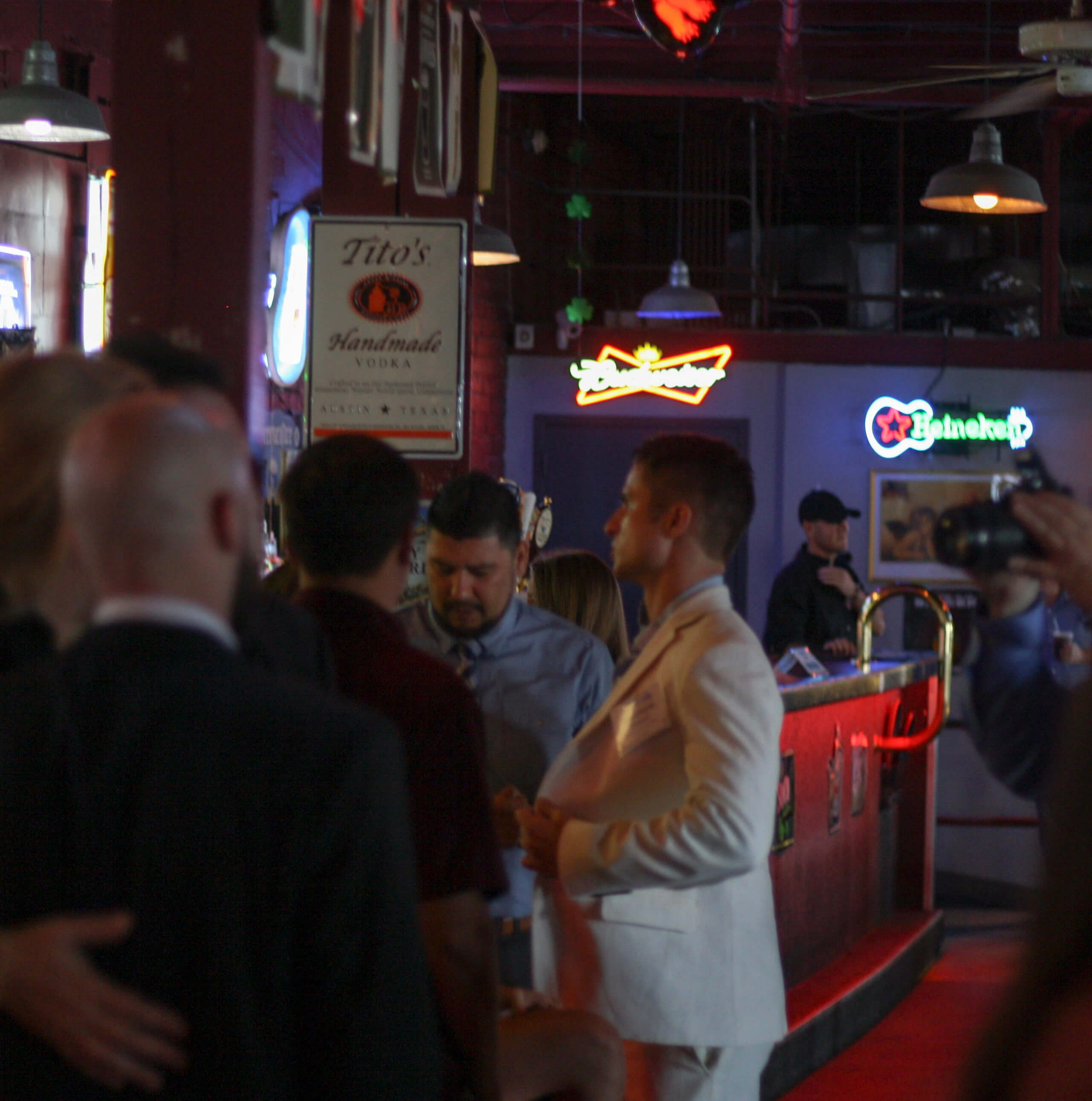Local bachelors and bachelorettes were auctioned off with date packages to benefit six local charities at the Savannah Jaycees fourth annual Charity Date Night Auction at Savannah Smiles Dueling Pianos.