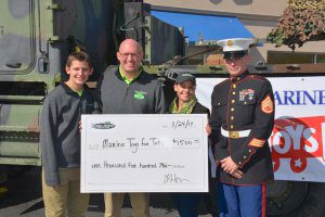 Junkluggers of the Coastal Empire Supports Marine Toys for Tots