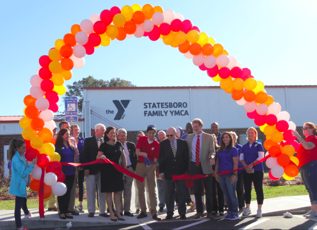 Felder & Associates Ribbon Cutting Ceremony at The New Statesboro Facility of YMCA of Coastal Georgia
