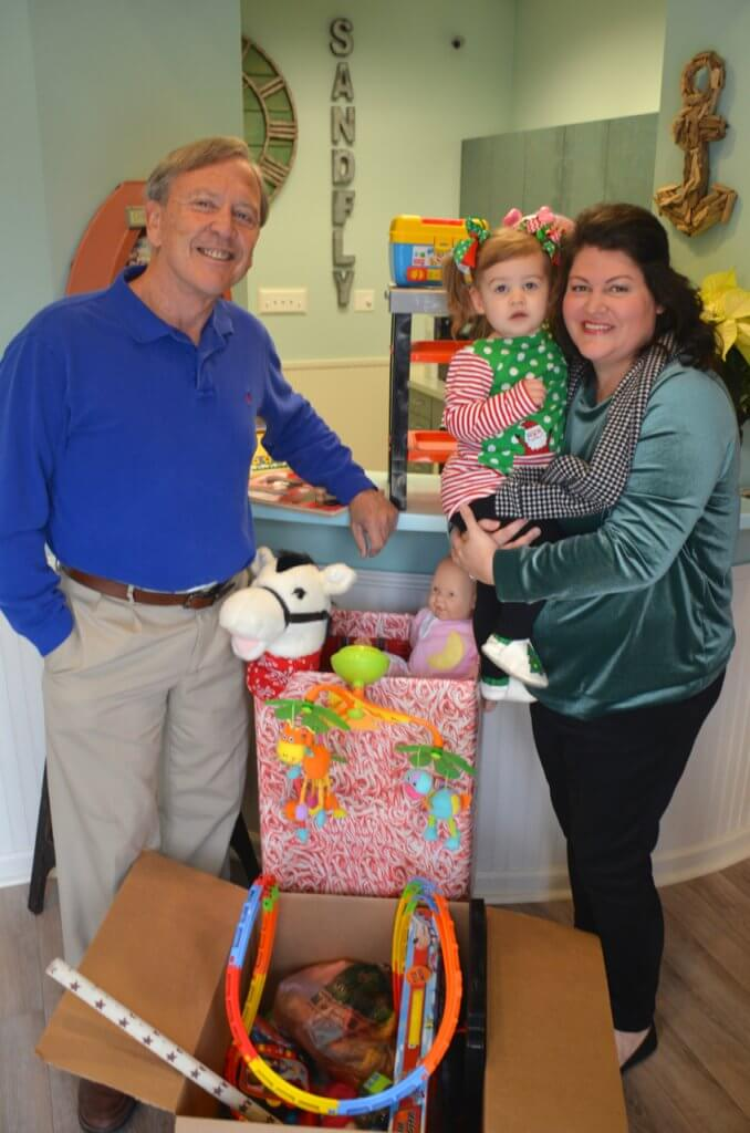 Sandfly Family Dental Presents Toy Donation to YMCA in Savannah