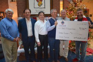 Maritime After Hours Presents Check to Ronald McDonald House of Coastal Empire