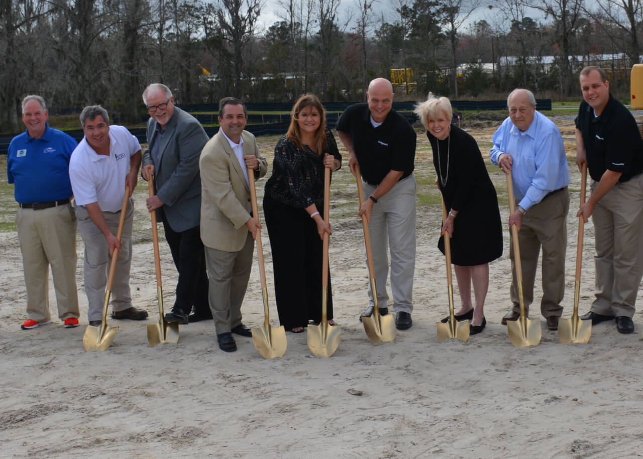The Dewitt Tilton Group Breaks Ground on Livingoods Store
