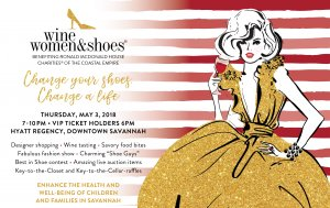 The Ronald McDonald House Charities of the Coastal Empire Fifth Annual Wine Women & Shoes Fundraiser