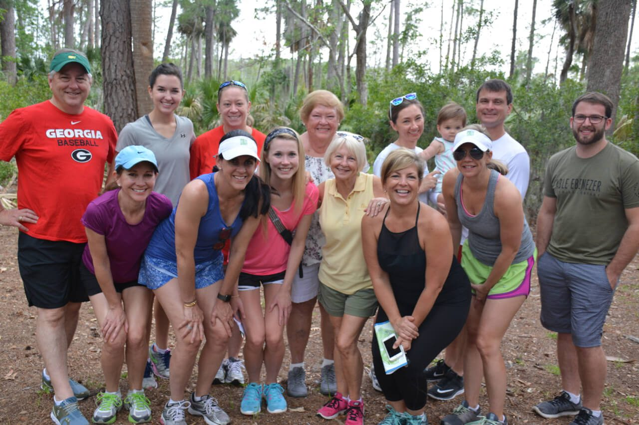 Low Country Dermatology's Walk for Melanoma Awareness Participants in 2017