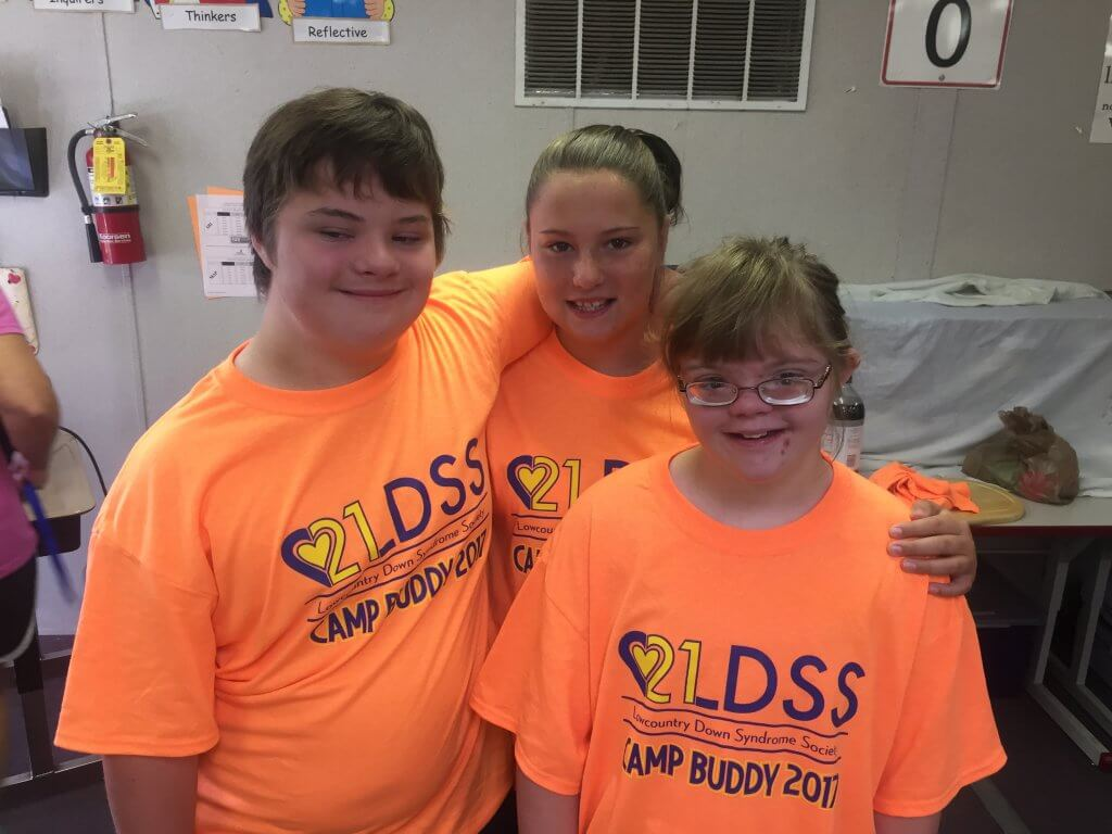 Chatham Camp Buddy Lowcountry Down Syndrome Society 2017
