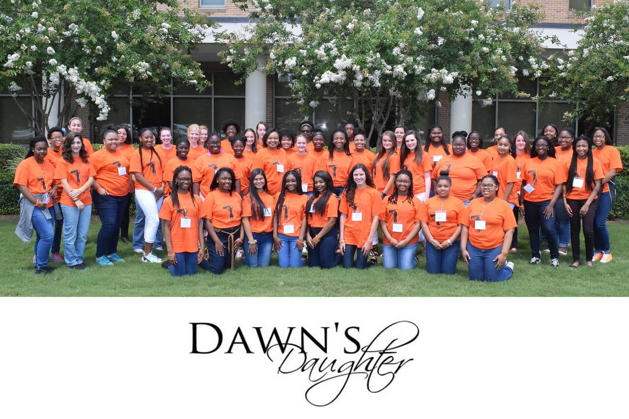 Young ladies complete the 2017-2018 Dawn's Daughter Leadership Academy