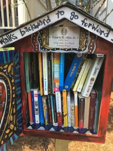 Park Place Outreach Opens Little Free Library
