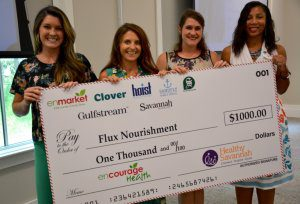 Enmarket and Healthy Savannah Present Encourage Health Education Grant to Flux Nourishment