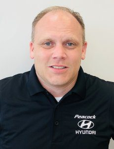 Kris Childs, General Manager of Peacock Hyundai Columbia