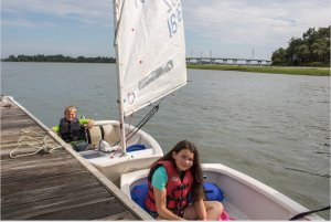 Local Youths Receive Sailing Camp Scholarships from Audi Hilton Head