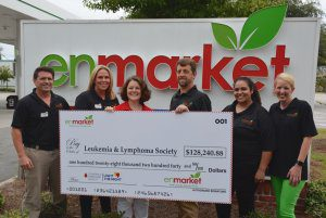Enmarket Donation to the Leukemia and Lymphoma Society