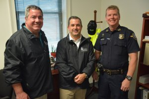 Dewitt Tilton Group Delivers Holiday Heals to Thunderbolt Police and Fire_2822