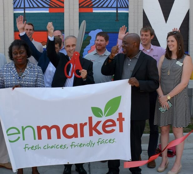 Enmarket MLK Store Ribbon Cutting Ceremony